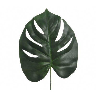 Feuillage vert Monstera sur tige 24cm x 72cm | jourdefete.com