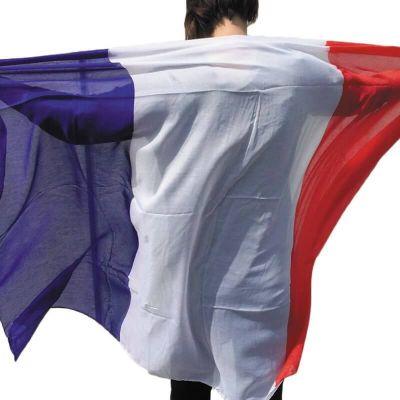 drapeau de la France de 150 cm | jourdefete.com