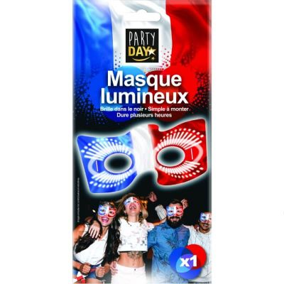 masque-france-supporter-fete | jourdefete.com