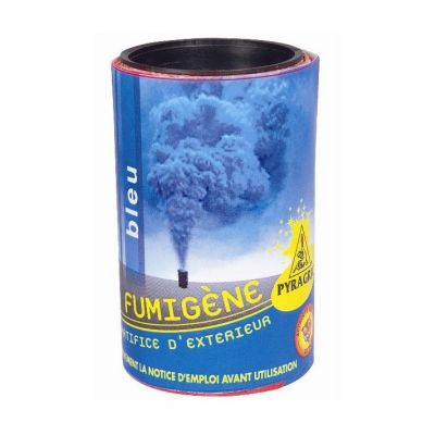 Fumigène - 60 secondes - Bleu | jourdefete.com