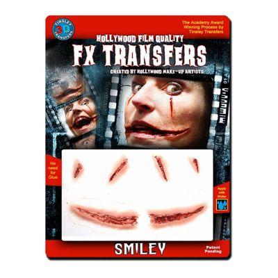 "Transfert cicatrice 3D ""Smiley"""