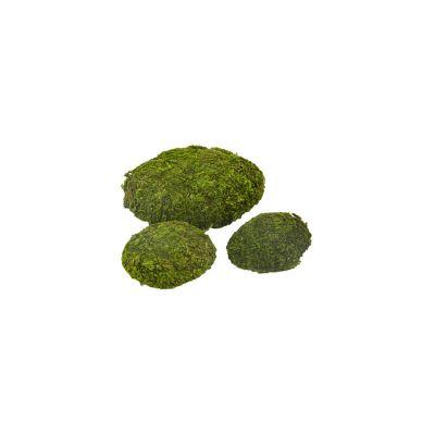 3 galets assortis de mousse artificielle | jourdefete.com