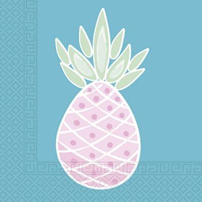 Sachet de 20 Serviettes Ananas