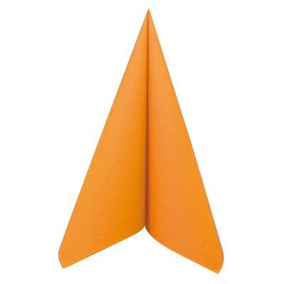 50 Serviettes Voie Sèche - Orange