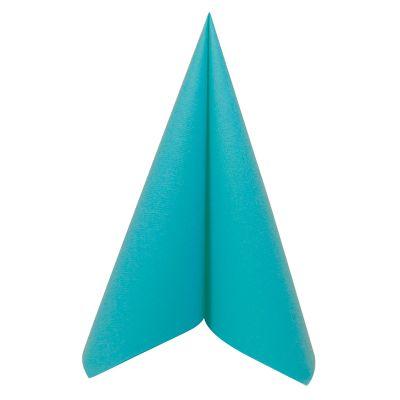 50 Serviettes Voie Sèche - Turquoise