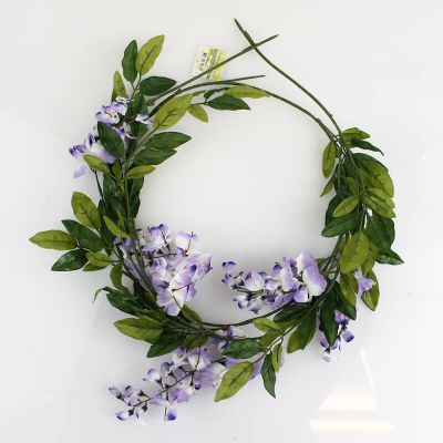 Guirlande de fleurs - Glycine Parme