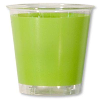 Gobelets en plastique 30cl Vert Anis