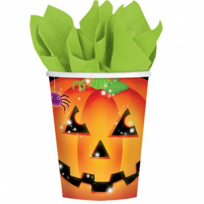 "Pack de 8 gobelets - Collection ""Pumpkin"""