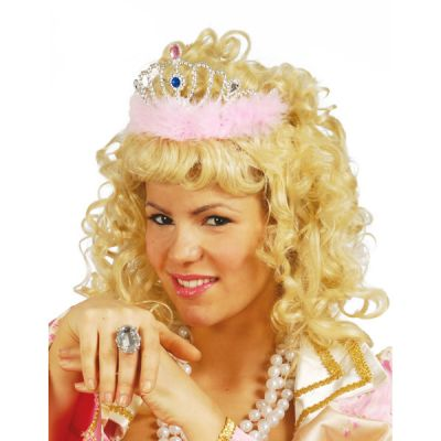 Diadème Princesse Plume