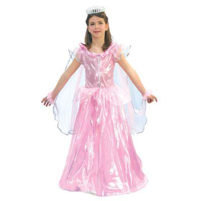 déguisement Princesse Rose et Brillant Fille