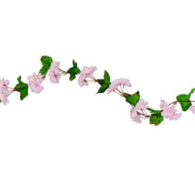 Guirlande de fleurs de cerisier rose ou blanc | jourdefete.com