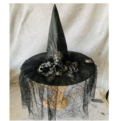 chapeau-sorciere-voile-halloween   jourdefete.com