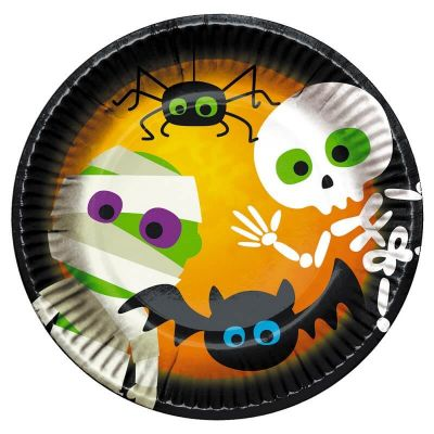 assiettes-carton-halloween | jourdefete.com