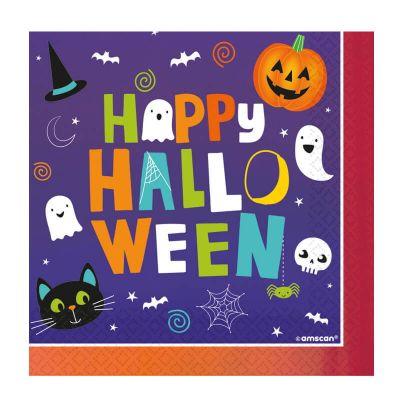 serviettes-pumpkins-halloween   jourdefete.com