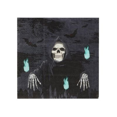serviettes-halloween-faucheur | jourdefete.com