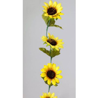 guirlande tournesols 220 cm | jourdefete.com