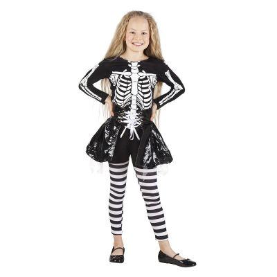 Déguisement de Squelette Démoniaque Fille - Taille au Choix