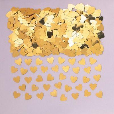 Confettis Cœurs Or - 14 gr
