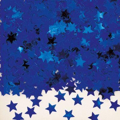 Confettis Etoiles Bleues - 14 gr