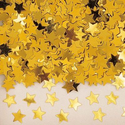 Confettis Etoiles Or - 14 gr