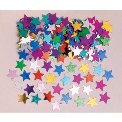 Confettis Etoiles Multicolores - 14 gr