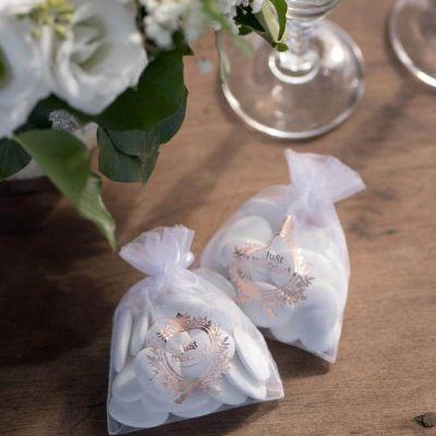 sachet-dragees-just-married-rose-gold|jourdefete.com
