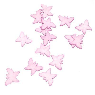 Sachet de 15 Papillons en Gomme Décoration de table Lilas