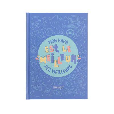 Livre a personnaliser – autocollants – Meilleur Papa – Mr. Wonderful   jourdefete.com