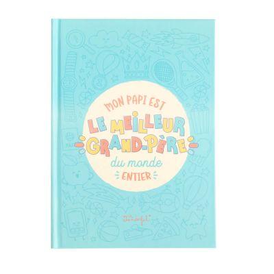 Livre a personnaliser – autocollants – Meilleur Grand-Père – Mr. Wonderful | jourdefete.com