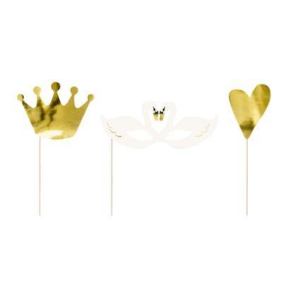 kit-photobooth-courronne-cygne-coeur-lovely-swan|jourdefete.com