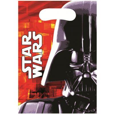 Sachet de 6 Sacs Cadeaux - Star Wars