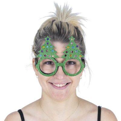 lunettes-paillettes-rudolph-renne-sapin | jourdefete.com