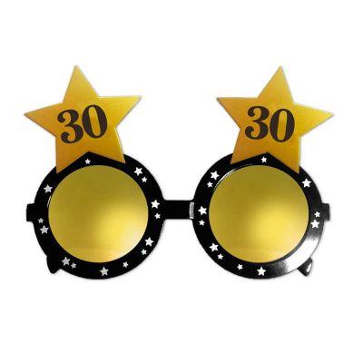 lunettes en plastique étoiles anniversaire | jourdefete.com