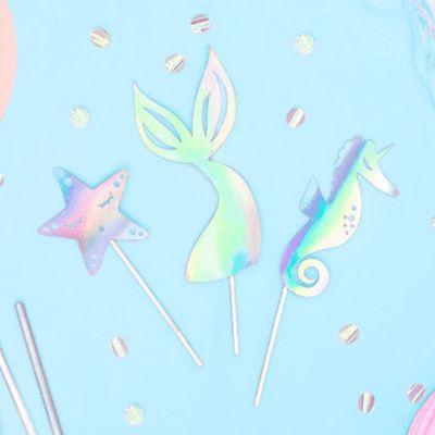 decorations-gateau-sirene-anniversaire jourdefete.com