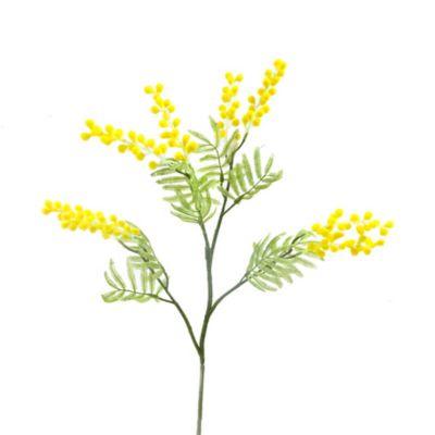 branche de mimosa artificiel 85 cm | jourdefete.com