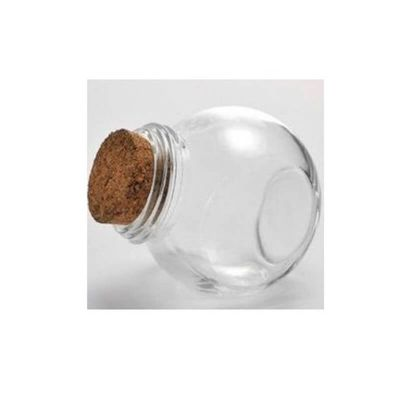 Mini Bonbonnière en verre transparent