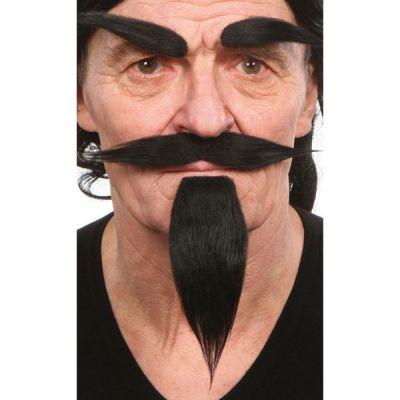 Set Diable : Moustache, Barbiche et Sourcils