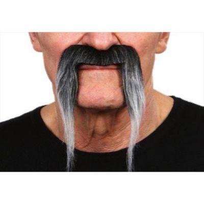 """Moustache """"Pirate"""" - Gris"""