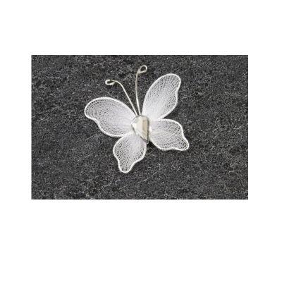 Décoration de Table - Papillon Blanc