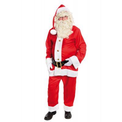 Costume de Père Noël Américain - Taille Unique
