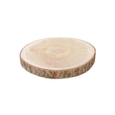 rondin de bois 38 cm   jourdefete.com