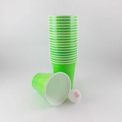 """Gobelets """"Beer Pong"""" x20 - Vert"""