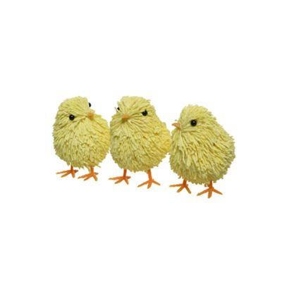 lot de 3 poussins en mousse pour Pâques | jourdefete.com