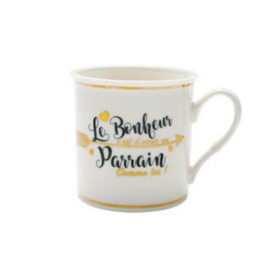 bonheur-bapteme-parrain-mug | jourdefete.com