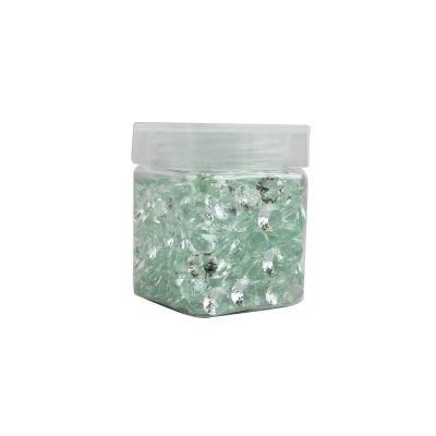 Perle de pluie diamants 110 gr - Vert menthe