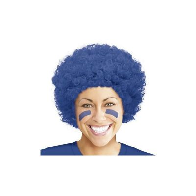 perruque-bleu-supporter-clown | jourdefete.com
