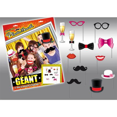 """Pack photo booth Géant """"chic"""""""