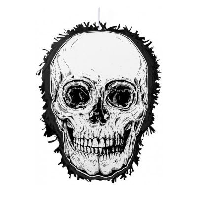 pinata halloween tete de mort   jourdefete.com