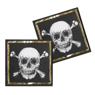 serviettes-anniversaire-halloween-pirate | jourdefete.com