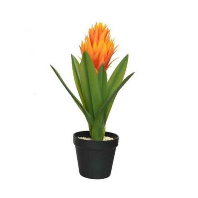 decoration-fleur-artificielle-orange | jourdefete.com
